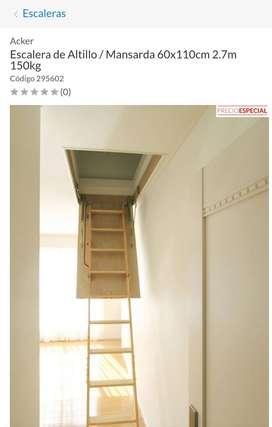 Escalera para altillo