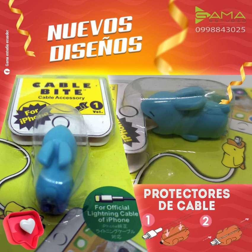 PROTECTOR DECORATIVO DE CABLES  ️DISEÑOS EXCLUSIVOS Y ÚNICOS