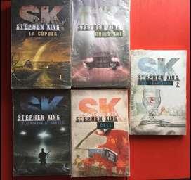 Libros de Stephen King NUEVOS SIN ABRIR