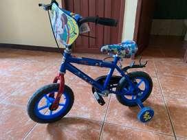 Bicicleta mickey mouse