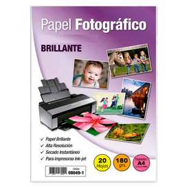 PAPEL FOTOGRAFICO A4