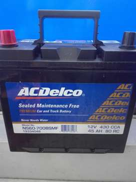 bateria carro Sail acdelco 700 carro mazda 2