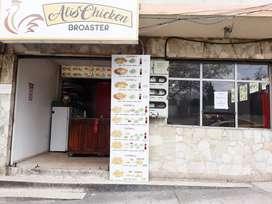 Negocio de pollo Broaster
