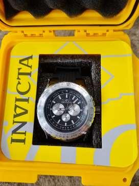 Vendo Reloj Invicta Aviator, Original, Nuevo, Caja Acero Inoxidable,