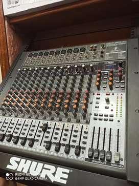 Consola de sonido behringer x2424usb fx