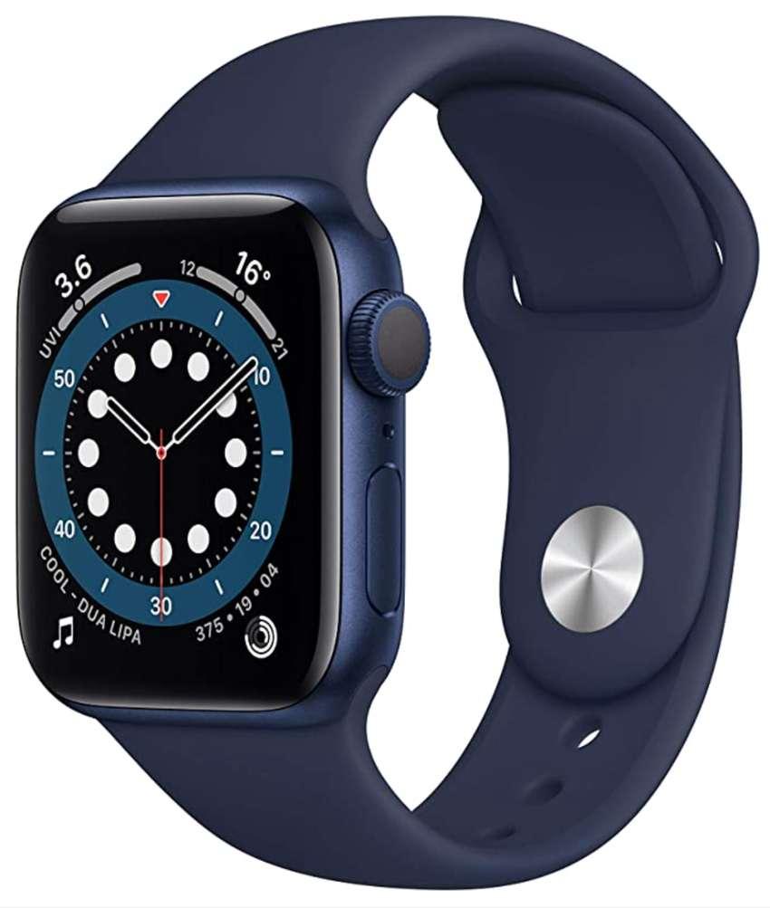 Apple Watch Series 6 40mm (GPS) Blue Aluminum Case - Caja