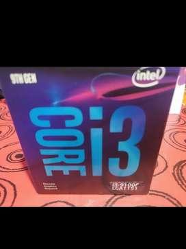 Vendo Procesador Intel I3 9100F y 2 Memorias Rams Kingston 4gb (8gb)