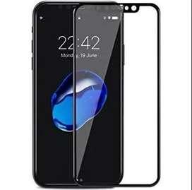 Vidrio Templado Glass Curvo 6d Apple Iphone X Xs Xr Xs Max