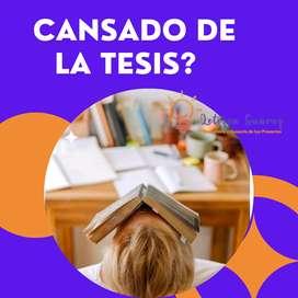 SACA ESTA TESIS DE UNA VEZ!!! AYUDA CORRECCION SUPERVISION ASESORAMIENTO METODOLOGIA