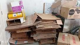 Vendo cajas de cartón
