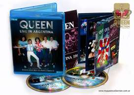 Queen Live in Argentina 1981 The Complete Tour 2 Bluray o DVD