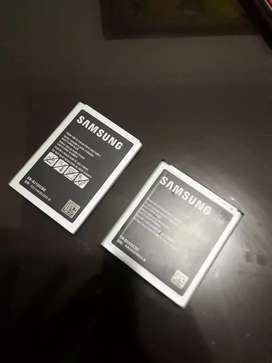 Batería para samsung totalmente original. Ambas en 50 o cada una en 35.000