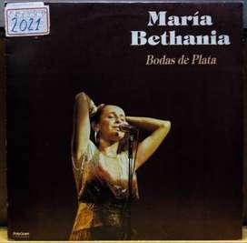 DISCO VINILO María Bethania Bodas De Plata
