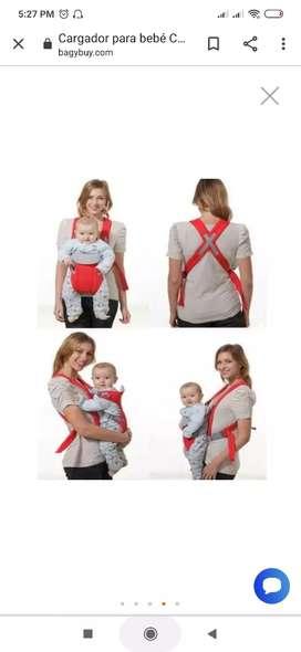 Cargador para bebé rojo