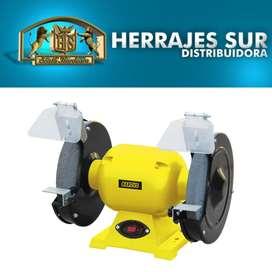 Amoladora De Banco 550watts 3/4 Hp + 2 Piedras Profesional