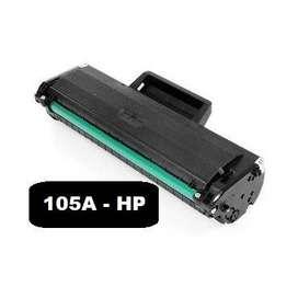 Toner 105A para impresora HP 107W sin chip