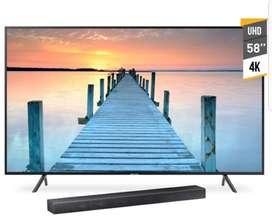 Tv Smart Samsung 58 4kuhd Barra