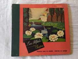 Las silfides ballet chopin 3 discos de vinilo en libro