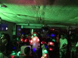 Alquiler de sonido, luces, camara de humo, controladora, DJ