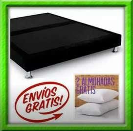 Combo colchón base almohadas entregas inmediato