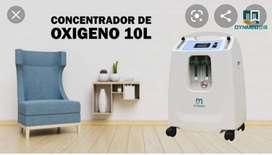 ALQUILO O VENDO CONCENTRADOR  DE OXIGENO 10 LTS AL MEJOR PRECIO