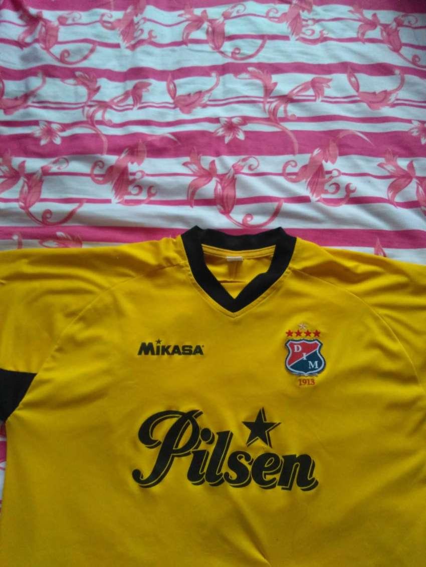 Camiseta Original Independiente Medellin Micasa 2011 Amarilla 0
