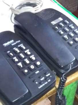 Vendo dos teléfonos fijos