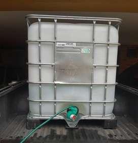 Tanque Agua Potable 1000 Litros Contenedor Isotanque