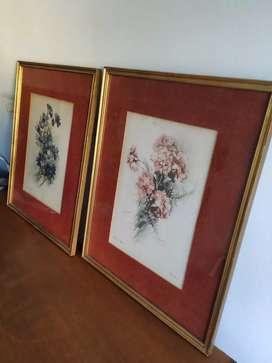 2 Cuadros, Motivos Florales
