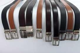 Cinturones reversibles, doble función y standar