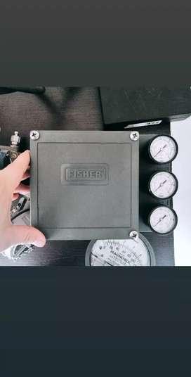 Posicionador neumático Fisher.