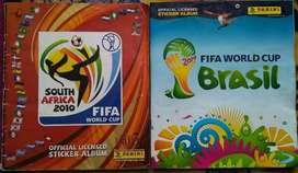 Álbumes Panini: Sudáfrica 2010 y Brasil 2014