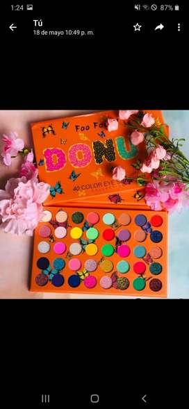 Paleta de sombras Donut