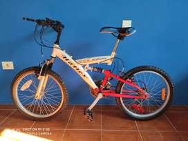 Bicicleta Mountain Bike Halley Hx4, Full Suspensión R20.