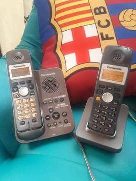 Inalambrico Duo con identificador, contestador automatico  y altavoz