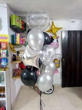 Globos en helio cali- Domicilio - Arreglos en globos - Bouquets en globos