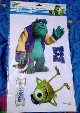 Vinilos Monsters University Decolife Disney