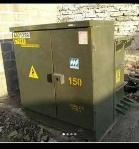 Transformador 150kVA tipo pad mounted