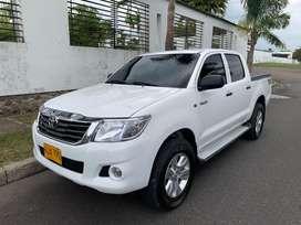 Hilux 2500 mecanica 2014 diesel como nueva