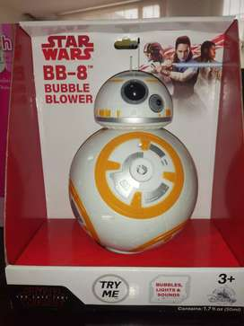 Robot Star Wars Bubble Blower