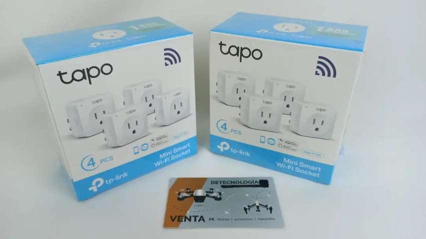 Enchufe Inteligente Wifi Alexa Tp-link Tapo P100 (4-pack) 0