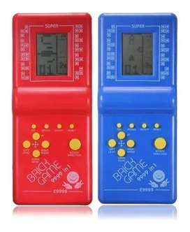 Atari Tetris Clasico Mano Divertido Video Juego Retro E-9999 Gamer