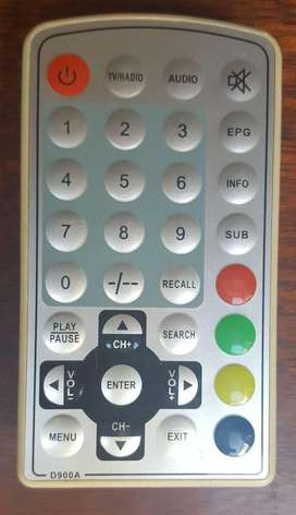 Control-D900A-ISDB-Digital-Television-TV-Receiver-Box SIN USO