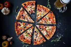 Pizzas calientes en la puerta de tu casa