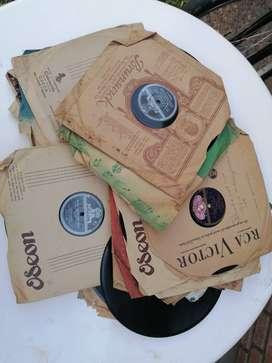 discos de pasta antiguos