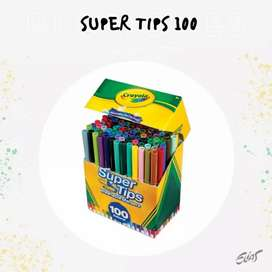 Super tips 100 CRAYOLA