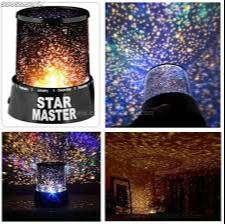 proyector lampara estrellas star master
