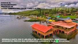Se Venden Lotes en Condominio Campestre por el lago Calima