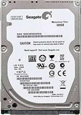Se venden 2 disco duro de 320gb uno de computador de mesa y el otro de portatil