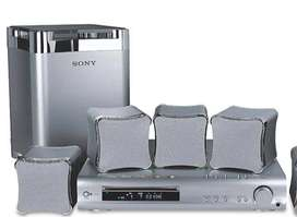 Sistema de altavoces de sonido envolvente Casa Sony (5) SS-TS503 & (1) Sub Woofer SS-WS503